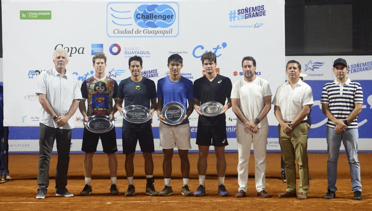 Sakamoto e Wild ficam com o vice campeonato de duplas no challenger de Guayaquil