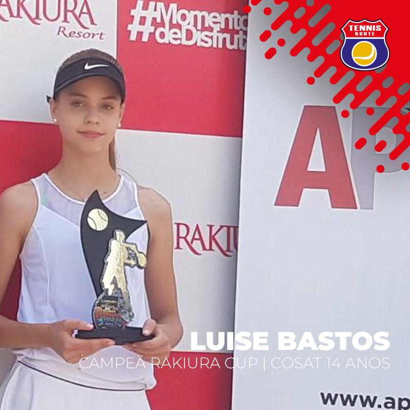 Felipe Peixoto vence torneio nos Estados Unidos. Luise Bastos é campeã de etapa COSAT no Paraguai.