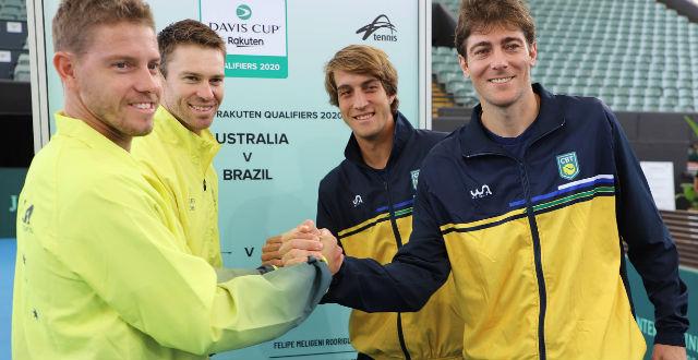 Marcelo Demoliner joga na noite nesta sexta na Copa Davis