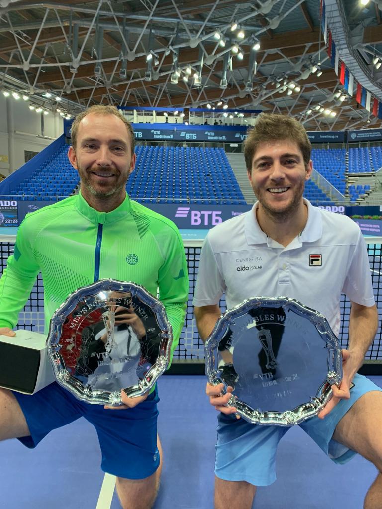 Demoliner é campeão do ATP 250 de Moscou