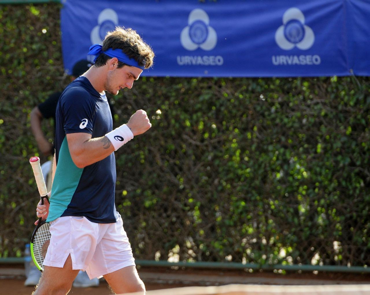 Thiago Wild derruba peruano e joga sua 1ª final de challenger, em Guayaquil