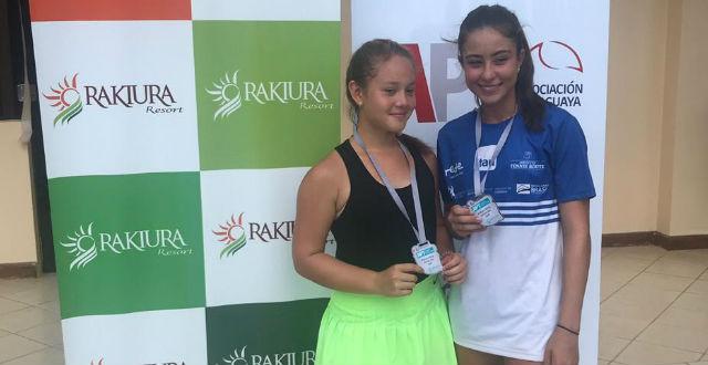 Amanda de Oliveira é vice de duplas em Assunção, no Paraguai
